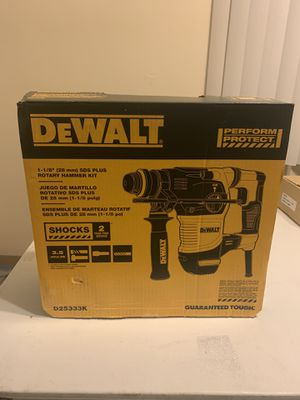 DEWALT ROTARY HAMMER KIT - BRAND NEW $300.00 O.B.O for Sale in Lakewood, OH
