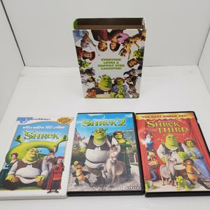 The Shrek Trilogy DVD's for Sale in St. Louis, MO