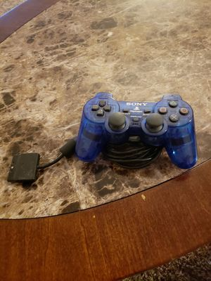 Blue Playstation 2 controller for Sale in Pataskala, OH