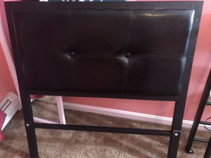 Brown twin bed frame for Sale in North Andover, MA