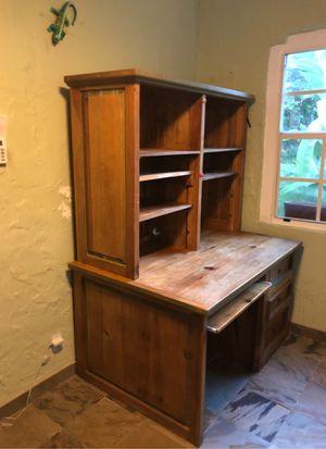 Solid Pine Mexican style computer desk for Sale in Miami, FL