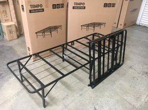 Tempo Collection 14 inch High Profile Platform Smart Base Bed Frame, Full for Sale in Norwalk, CA