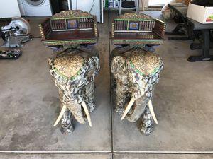 Thai Teak Wood Elephants for Sale in Orange, CA