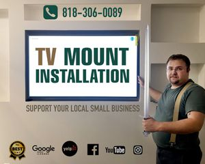 Tv mount bracket on sale Television hanging led lcd curved tv smart tv Samsung lg Panasonic 4k Hisense fire tv for Sale in Los Angeles, CA