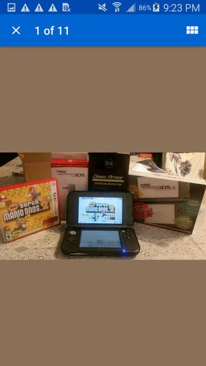 Nintendo 3DS XL bundle black for Sale in Brooklyn, NY