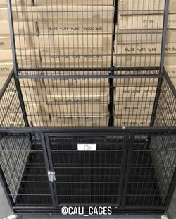 """Dog Pet Cage Kennel Size 37"""" Medium New In Box 📦 for Sale in Ontario,  CA"""