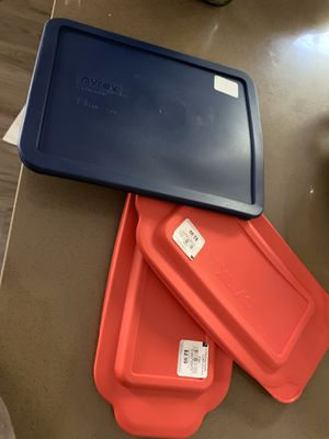 Pyrex lids brand new for Sale in Nashua, NH