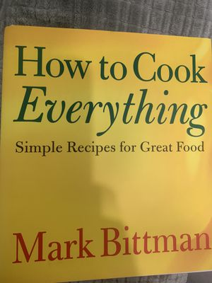 How to cook everything recipe book for Sale in Westbury, NY