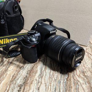 Nikon 3100 Dslr for Sale in El Monte, CA