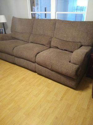 Electric Reclining Sofa for Sale in Dallas, GA
