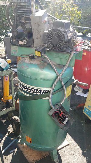 Speedaire 3 phase shop compressor for Sale in Pleasant Hill, CA