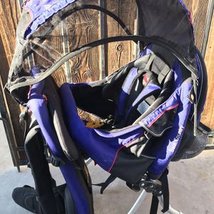 Kelty Kids Backpack Child Carrier with Hood for Sale in Phoenix, AZ
