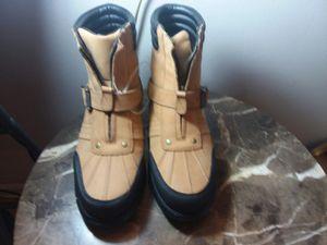Ralph Lauren men's high waterproof new boots sz 10 for Sale in Palatine, IL