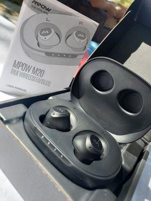 $45 MPOW M20 WIRELESS EARBUDS for Sale in Las Vegas, NV