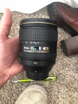 Nikkor lens AF -S 24-120mm Nikon Camera for Sale in Denver,  CO