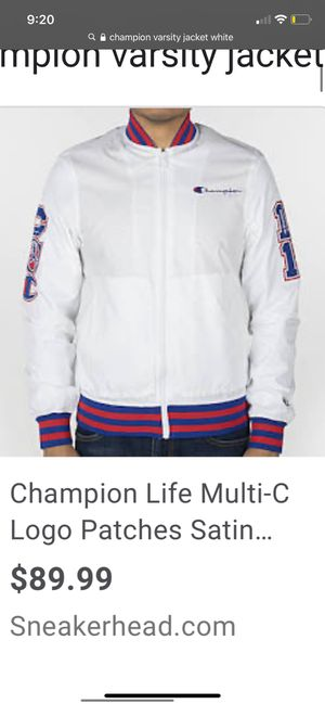 Champion windbreaker for Sale in Fresno, CA