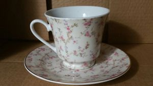 Bone China tea cup and plate for Sale in Gresham, OR