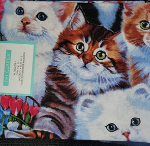 Cat fabric for Sale in Dixon, MO