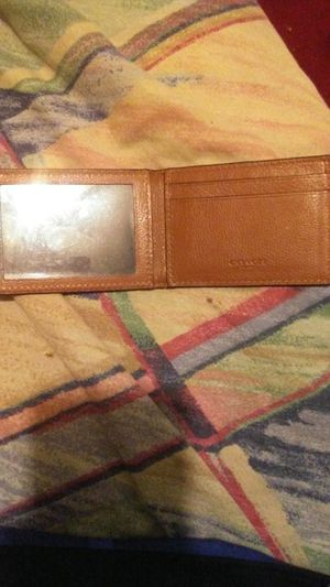 Coach wallet for Sale in Durham, NC