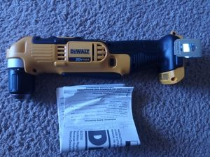 """DeWalt 20 v 3/8"""" right angle drill tool only for Sale in Las Vegas, NV"""