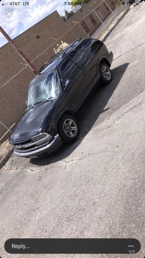2001 Chevy blazer for Sale in Blacklick, OH