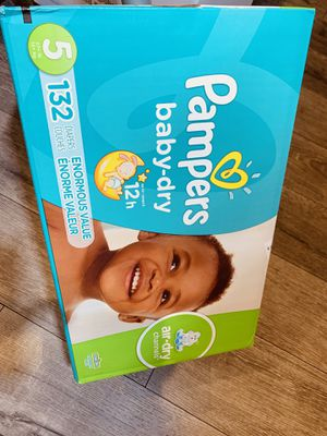 Pampers size 5. — $35 FIRM for Sale in Hawthorne, CA