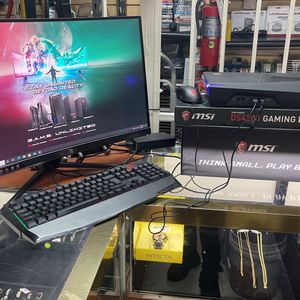 MSI Trident 3 Gaming Desktop w/ Curved Monitor for Sale in Hialeah, FL