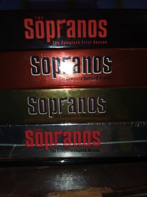 spranos 4 seasons complete most still in packaging all discs included for Sale in Wheaton, MD