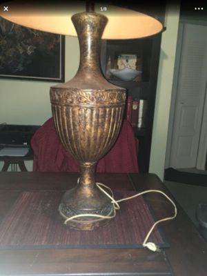 2 heavy large ceramic vintage lamps. **read description** 70's for Sale in North Lauderdale, FL
