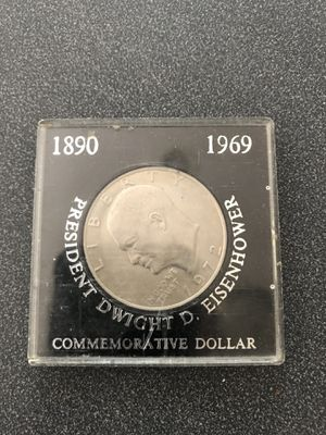 Dwight D Eisenhower 1972 Comm. Silver Doller for Sale in OSBORNVILLE, NJ