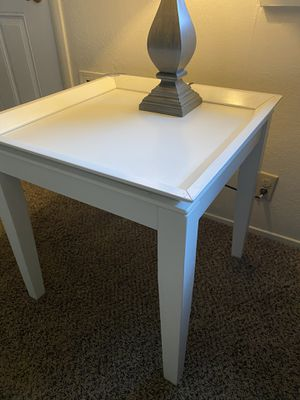 Set of White coffee table and two Corner Tables. for Sale in Sacramento, CA