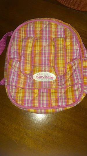 Amercian Girl Doll Baby Backpack for Sale in Costa Mesa, CA