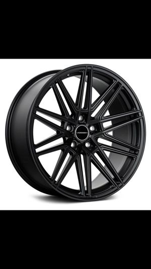 "Satin black 20"" Vosson CV10 available in 5x112 5x114 5x120 rims wheels and tires for Sale in Tempe, AZ"