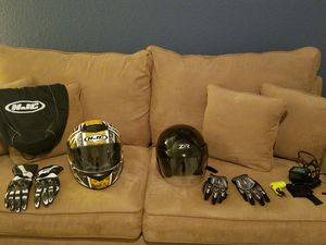 Motorcycle Gear for sale $300 all items including two Honda jackets $90 each. Charger sold. for Sale in Miramar, FL