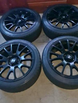18 inch black rims for Sale in Newark, NJ