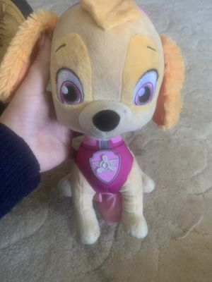 TALKING PAW PATROL STUFFED ANIMAL for Sale in Cleveland, OH