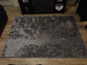 Grey Shag Rug for Sale in Valdosta, GA