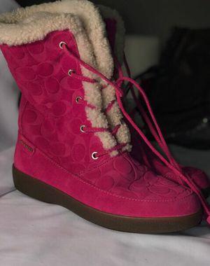Authentic Coach boots size 9 for Sale in Manassas, VA