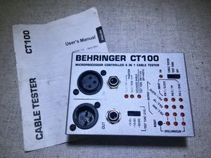 Behringer Cable Tester for Sale in Port Orchard, WA