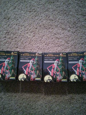 Nightmare before Christmas rare tradable figurines Christmas collection for Sale in Charleston, SC