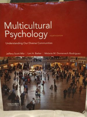 College Book Multicultural Psychology 4th Edition for Sale in Grover Beach, CA