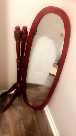 Mirror with legs for Sale in Raleigh, NC
