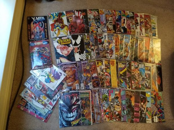 Comic Book Lot - 76 Issues - Various (Marvel, Image, etc.)