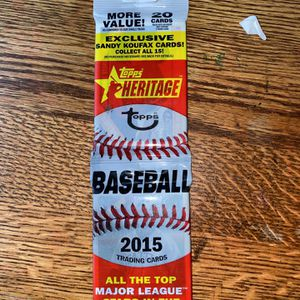 📈📈 Topps 2015 Heritage Baseball Cards🔥🔥 for Sale in Salinas, CA