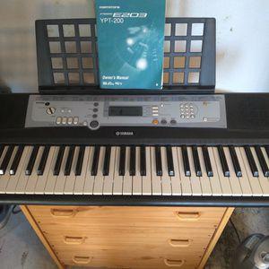 Yamaha Portatone. Music Keyboard. for Sale in Chico, CA