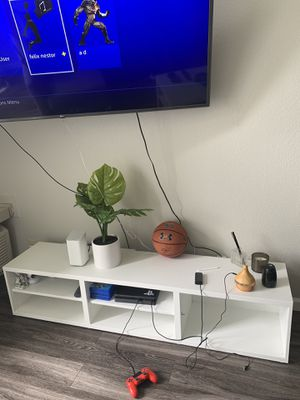 White tv stand for Sale in Walnut Creek, CA