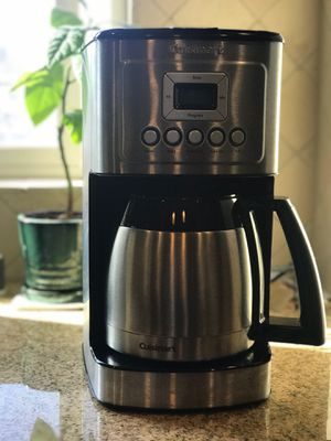 Cuisinart 12-cup programmable coffee maker for Sale in Mountain View, CA