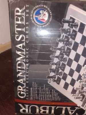 Electronic chess set Excalibur Grandmaster elite for Sale in Detroit, MI