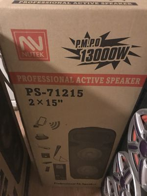 Profesional active speaker for Sale in Sanger, CA