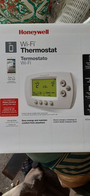 Honeywell RTH6580WF1001/W Wi-Fi 7-Day Programmable Thermostat - White for Sale in Acworth, GA